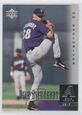 2001 Upper Deck UD Exclusives #37 - Nick Bierbrodt /100