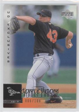 2001 Upper Deck UD Exclusives #94 - Sidney Ponson /100