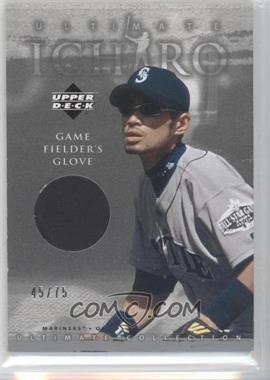 2001 Upper Deck Ultimate Collection Ultimate Ichiro Fielder's Glove #FG-I - Ichiro /75