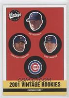 Cubs Rookies (Joey Nation, Corey Patterson, Cole Liniak)