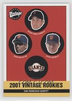 Giants Rookies (Ryan Vogelsong, Juan Melo, Chad Zerbe)