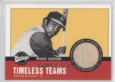 2001 Upper Deck Vintage - Timeless Teams Bats #OA-RJ - Reggie Jackson