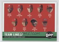 Philadelphia Phillies Team Lineup