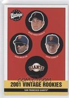 2001 Vintage Rookies (Ryan Vogelsong, Juan Melo, Chad Zerbe)