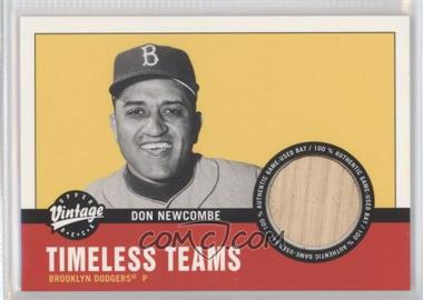 2001 Upper Deck Vintage Timeless Teams Bats #BK-DN - Don Newcombe