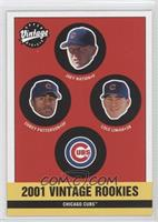 Cubs Rookies (Joey Nation, Corey Patterson, Cole Liniak)
