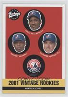 Expos Rookies (Yohanny Valera, Talmadge Nunnari)