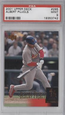 2001 Upper Deck #295 - Albert Pujols [PSA 9]