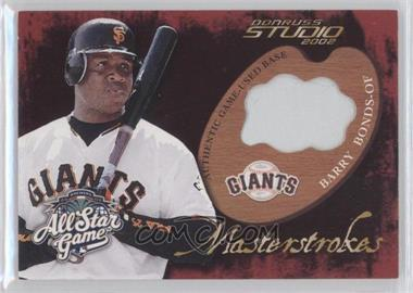 2002 All-Star FanFest Premium Wrapper Redemptions Game-Used #GU-4 - Barry Bonds