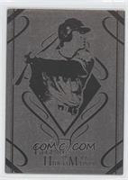Metal Short Print - Hideki Matsui (Silver)