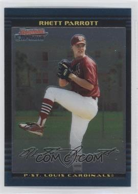 2002 Bowman Chrome Draft Picks & Prospects #BDP109 - Rhett Parrott