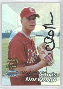 2002 Bowman's Best - [Base] #177 - Autograph - Chris Narveson