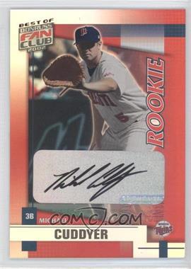 2002 Donruss Best of Fan Club - [Base] - Rookie Autographs [Autographed] #215 - Michael Cuddyer /1350
