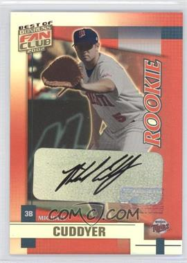 2002 Donruss Best of Fan Club [???] #215 - Michael Cuddyer /1350