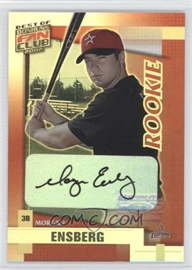 2002 Donruss Best of Fan Club [???] #221 - Morgan Ensberg /1350