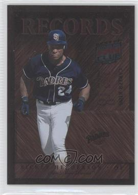 2002 Donruss Best of Fan Club [???] #R-4 - Rickey Henderson /300