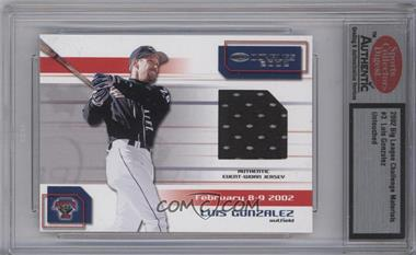 2002 Donruss Big League Challenge Materials #3 - Luis Gonzalez [ENCASED]