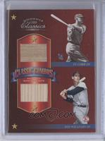 Ty Cobb, Ted Williams, Jimmie Foxx, Lou Gehrig /3