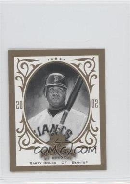 2002 Donruss Diamond Kings - T204 #RC-3 - Barry Bonds /1000