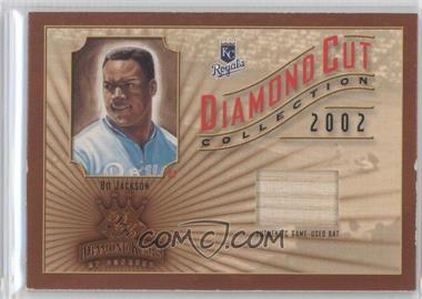 2002 Donruss Diamond Kings Diamond Cut Collection Signatures #DC-88 - Bo Jackson /500