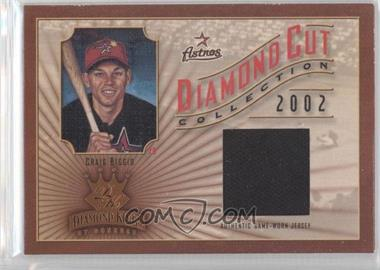 2002 Donruss Diamond Kings Diamond Cut Collection #DC-76 - Craig Biggio /500
