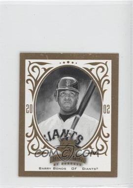 2002 Donruss Diamond Kings T204 #RC-3 - Barry Bonds /1000