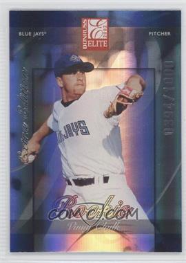 2002 Donruss Elite - [Base] #265 - Vinnie Chulk /1000