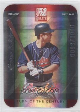 2002 Donruss Elite [???] #219 - Earl Snyder /1000