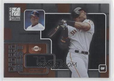 2002 Donruss Elite Career Best #CB 5 - Barry Bonds /73
