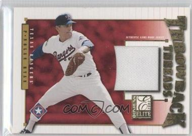 2002 Donruss Elite Throwback Threads #TT-50 - Nolan Ryan /100