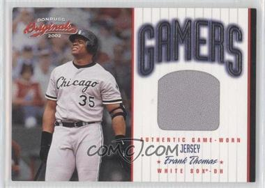 2002 Donruss Originals [???] #G-32 - Frank Thomas /500