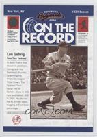 Lou Gehrig /800