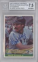 Wade Boggs /12 [BGS 7.5]