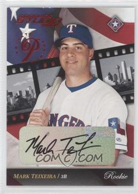 2002 Donruss Studio - [Base] - Private Signings [Autographed] #247 - Mark Teixeira /50