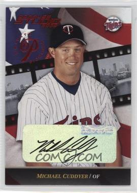 2002 Donruss Studio Private Signings [Autographed] #102 - Michael Cuddyer /250