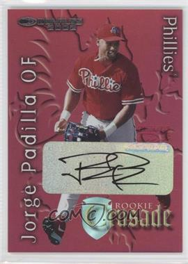 2002 Donruss The Rookies Crusade Autographs [Autographed] #RC-35 - Jose Pagan /475