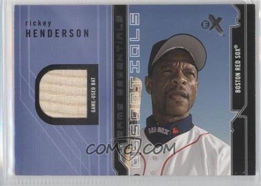 2002 E-X [???] #N/A - Rickey Henderson