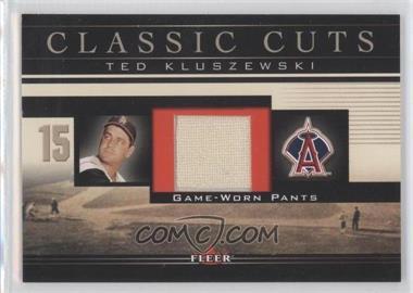 2002 Fleer [???] #TK-P - Ted Kluszewski