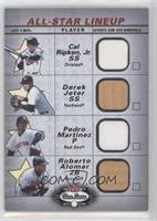 Cal Ripken Jr., Derek Jeter, Pedro Martinez, Roberto Alomar