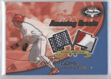 2002 Fleer Box Score Amazing Greats Patch [Memorabilia] #SCRO - Scott Rolen /150