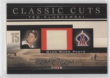 2002 Fleer Classic Cuts Game-Used Pants #TK-P - Ted Kluszewski