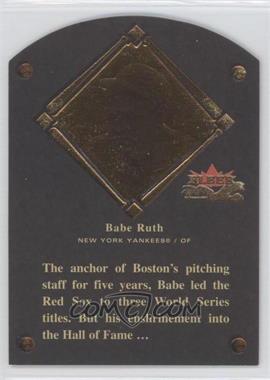 2002 Fleer Fall Classic - [???] #1HF - Babe Ruth /1936