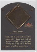 Duke Snider /1980