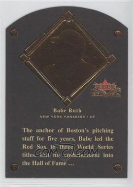 2002 Fleer Fall Classic [???] #1HF - Babe Ruth /1936