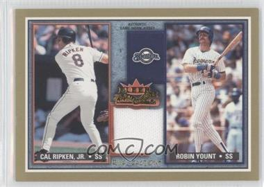 2002 Fleer Fall Classic [???] #RF CR-RY - Robin Yount, Cal Ripken Jr.