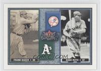 Babe Ruth, Frank Baker