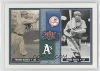 Babe Ruth, Frank Baker /1000