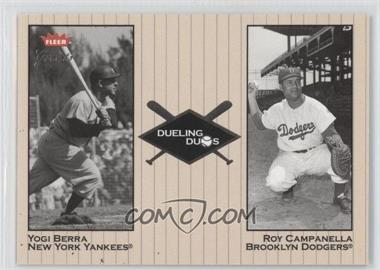 2002 Fleer Greats [???] #2DD - Yogi Berra, Robinson Cano