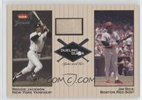 Reggie Jackson, Jim Rice