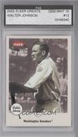 Walter Johnson [ENCASED]